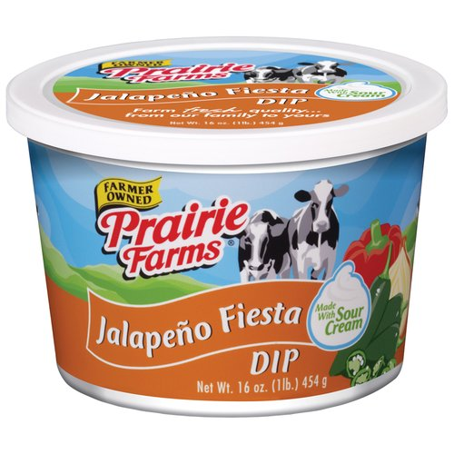 Prairie Farms Farmer Owned Jalapeno Fiesta Dip, 16 Oz.