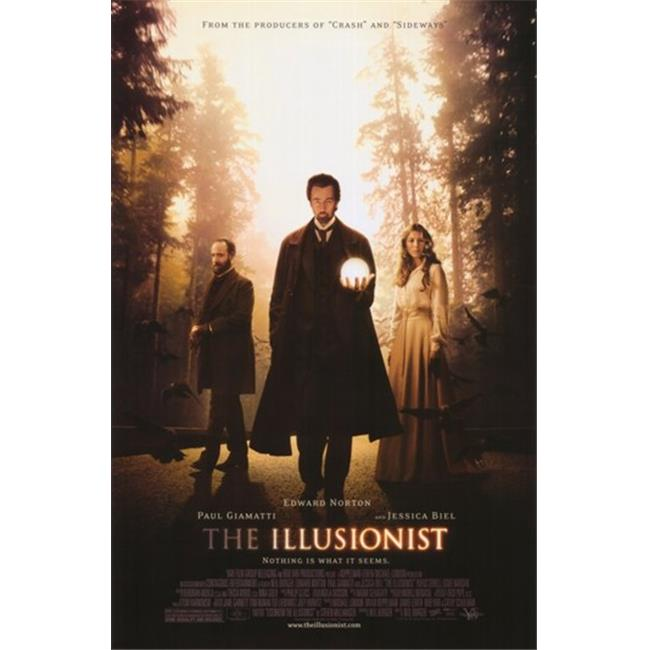 Pop Culture Graphics MOV376212 The Illusionist Movie Poster, 11 x 17 - image 1 of 1