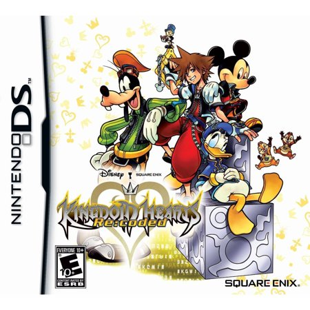 KINGDOM HEARTS RECODED NDS - Halloween Town Kingdom Hearts Chain Of Memories