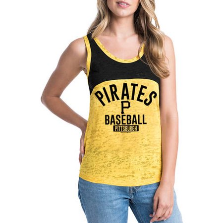 MLB Pittsburgh Pirates Women's Short Sleeve Team Color Graphic Tee