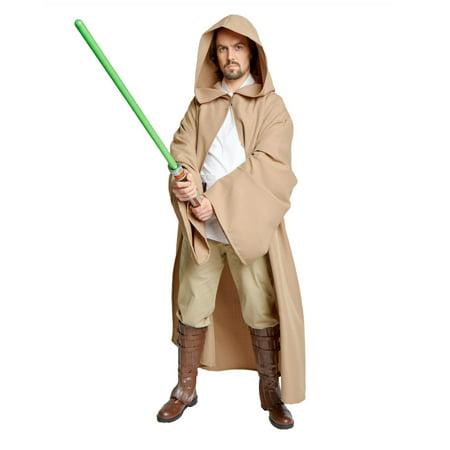 Chocolate Brown Jedi Robe Men's Small - Jedi Bathrobe