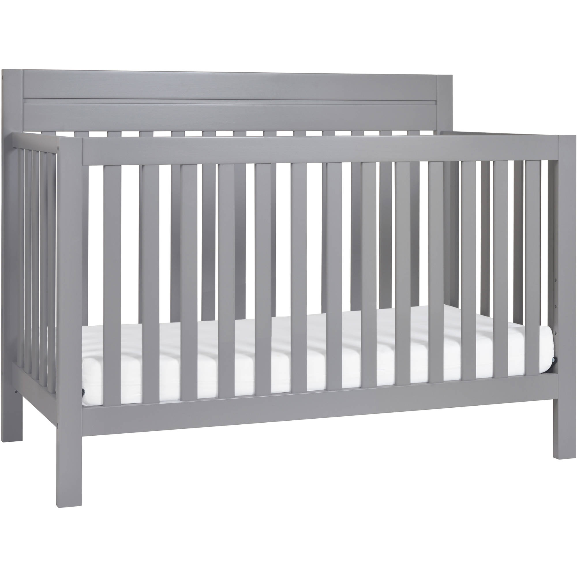 Baby Mod Modena 4-in-1 Convertible Crib Gray