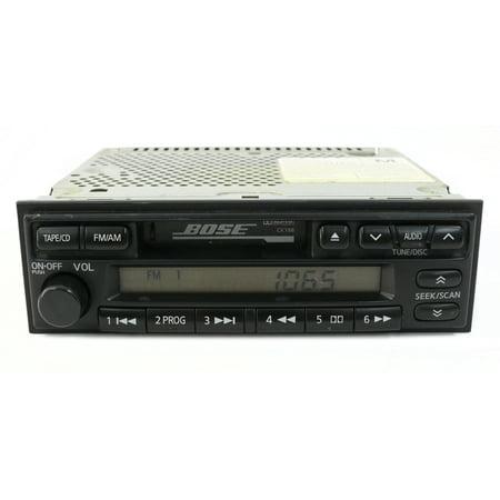2001 Nissan Pathfinder AM FM Stereo Cassette Receiver Model PN-1710N Face CK188 -