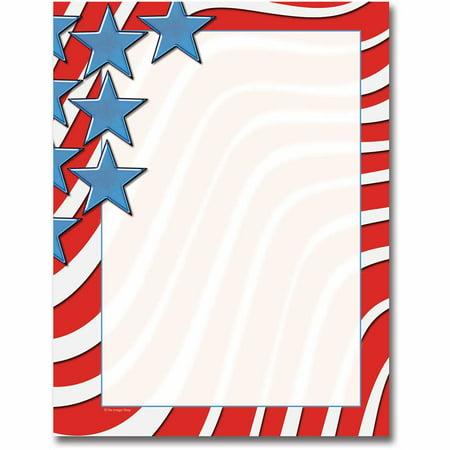 Star Spangled Banner Letterhead Laser & Inkjet Printer Paper