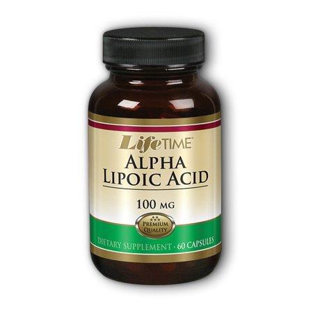 Acid Nutritional Supplement - lifetime alpha lipoic acid nutritional supplements, 60 count