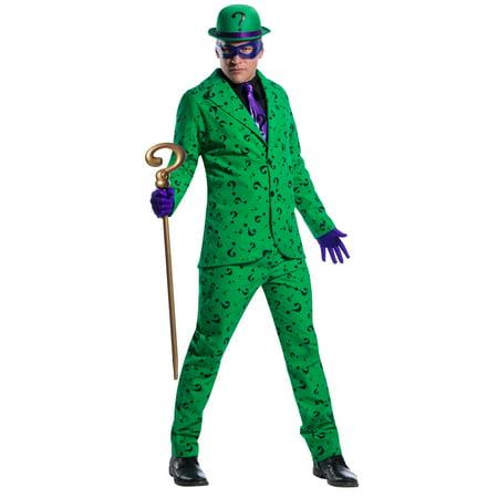 Mens Riddler Halloween Costume