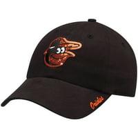 Women's Fan Favorite Black Baltimore Orioles Sparkle Adjustable Hat - OSFA