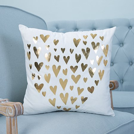 CLEARANCE! Throw Pillows Case, Justdolife Heart Shap Cushion Cover Bed Sofa Square Throw Pillow Case Home Office Decor Decorative for Couch Bedding 18'*18'](Office Decorate)