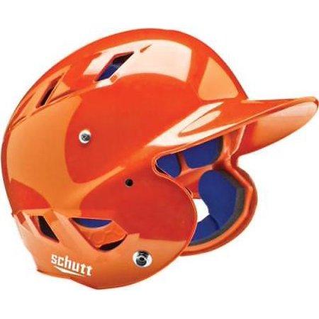 - Schutt AiR-4.2 BB Baseball Batting Helmet, MOLDED, JR & SR, Burnt Orange, Junior