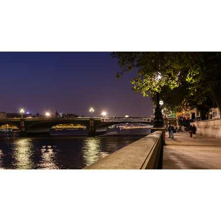 LAMINATED POSTER Night Time Bridge Thames London River Westminster Poster Print 24 x 36 - Thames Valley Police Halloween Poster