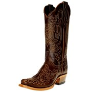 Cinch Western Boots Womens Cowboy Leather Toe Lined Brown CFW586