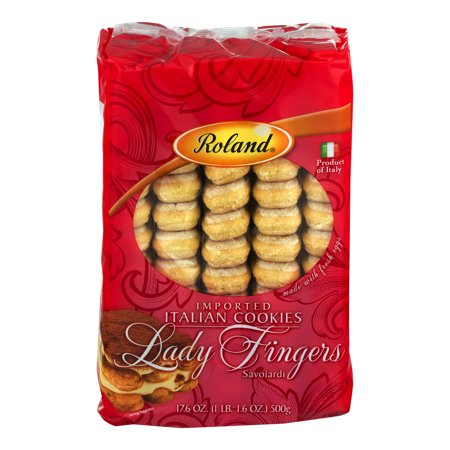 Roland Imported Italian Cookies Lady Fingers, 17.6 OZ - Finger Halloween Cookies