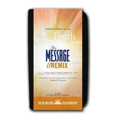 The Message Remix Bible : Complete Bible - Walmart com
