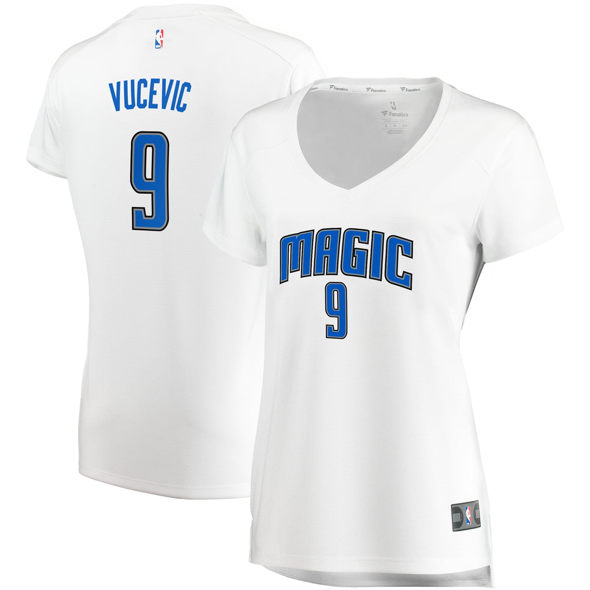 Nikola Vucevic Orlando Magic Fanatics Branded Women's Fast Break Replica Jersey White - Association Edition