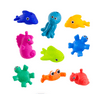 Sassy Snap & Squirt Sea Creatures Bath Toy, 9 Pack