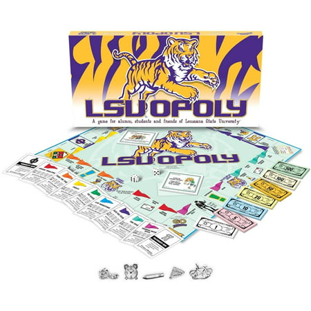 Late for the Sky Louisiana State - LSUopoly Board Game