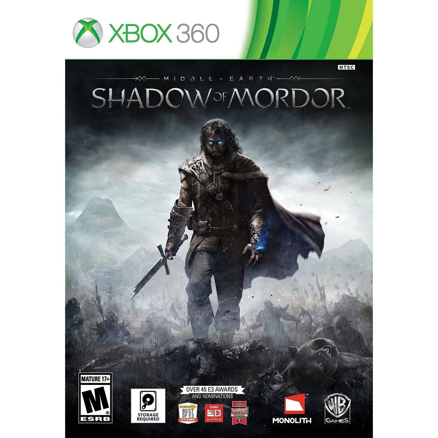 Middle Earth: Shadow of Mordor(Xbox 360) - Pre-Owned