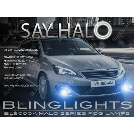 Stupendous Peugeot 308 Halo Fog Lamps Driving Lights Kit Angel Eye Walmart Com Wiring Digital Resources Caliashwinbiharinl