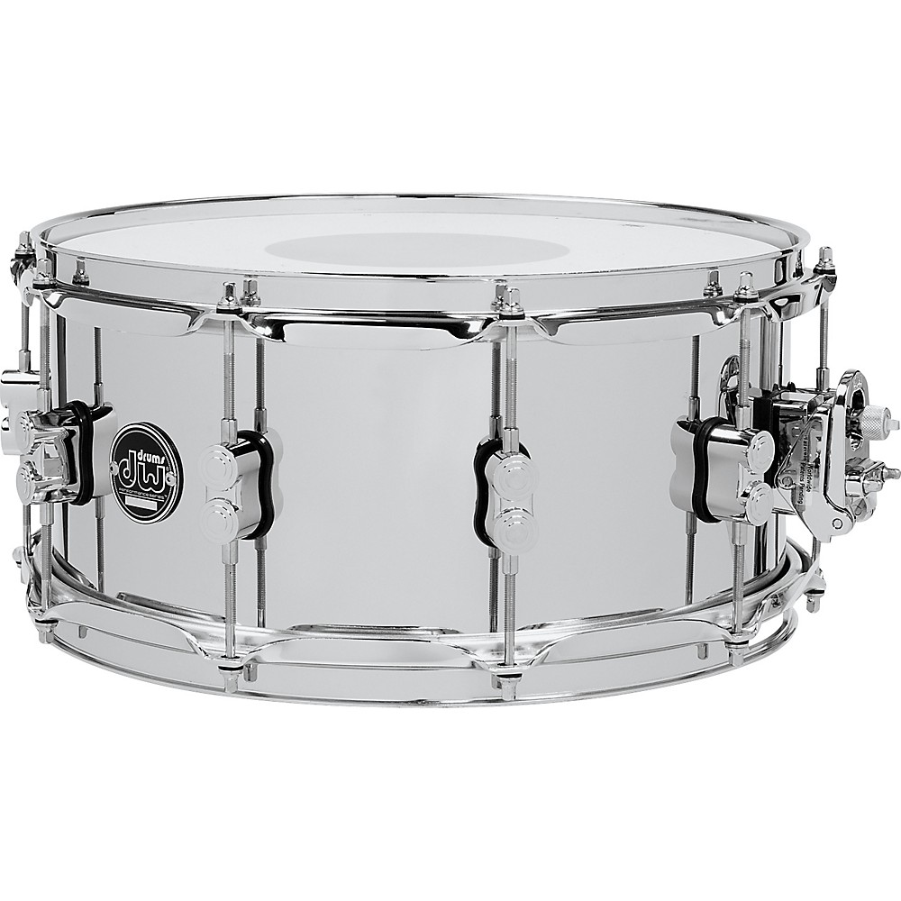 DW Performance Series Steel Snare Drum 14 x 6.5 in.