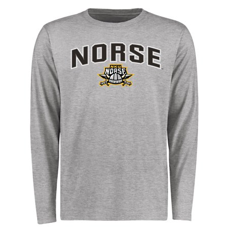 Northern Kentucky University Norse Proud Mascot Long Sleeve T-Shirt - Ash ()