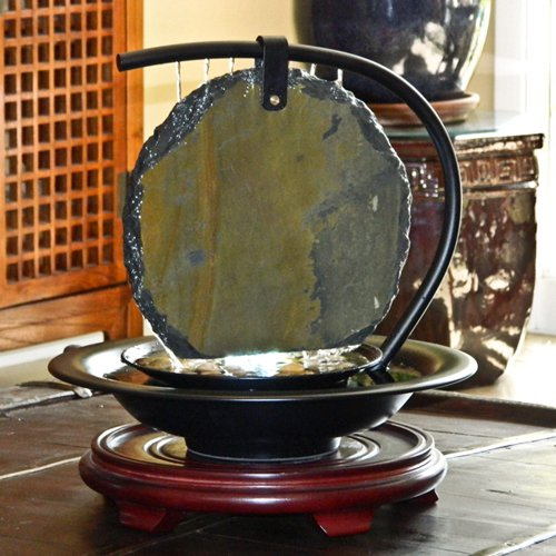 water wonders zen moonshadow indoor tabletop fountain - Tabletop Fountains