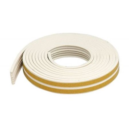 M-D Products 02618 17' White Extreme Temperature K-Profile Weather Strip