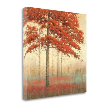 Tangletown Fine Art Autumn Trees II Canvas Wall Art - Walmart.com