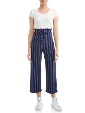 fcf721bfcc6 Product Image Juniors  Cap Sleeve Paper Bag Waist Pant Jumpsuit