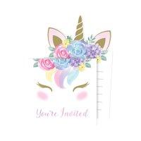 Unicorn Baby Shower Invitations, 24 Count