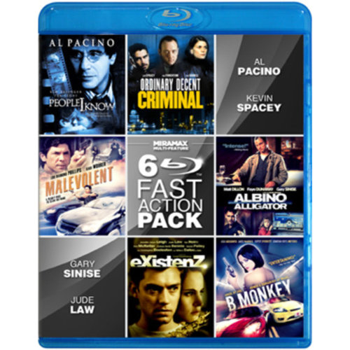 Miramax 6-Film Fast Action [Blu-ray]