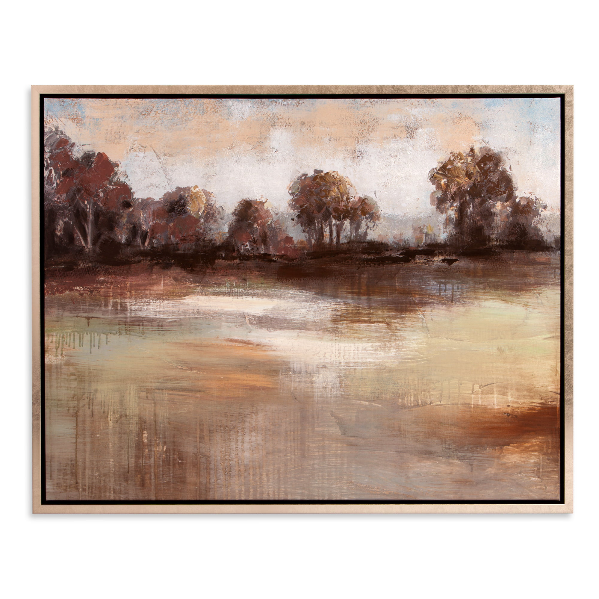 Patton Wall Decor Pastoral Landscape Framed Canvas Art by Patton Wall Decor