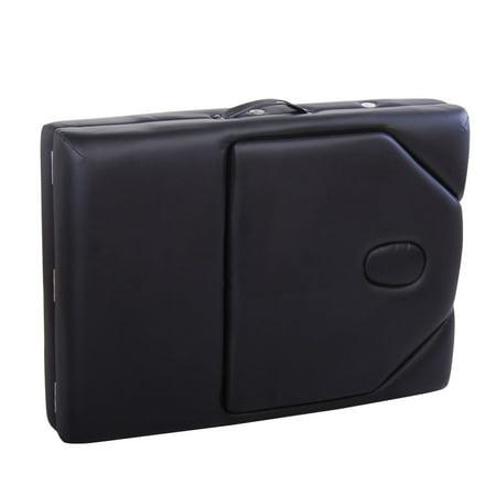 Portable High Performance Massage Table - Adjustable - Foldable - Black - image 6 of 7