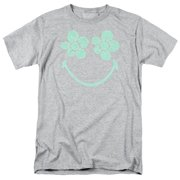 Smiley World/Flower Face   S/S Adult 18/1   Heather      Smy110