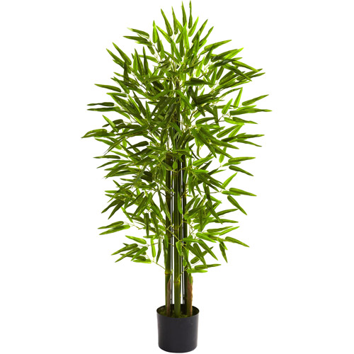 Nearly Natural 4' Bamboo Tree, UV Resistant, Indoor and Outdoor