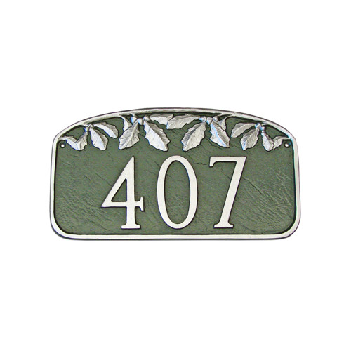 Montague Metal Products Inc. Leaf Address Plaque