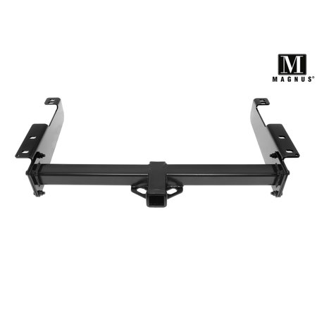 Magnus Assembly Class 3 Trailer Hitch 2 Inches Receiver Tube Custom Fit 1996-2019 Chevy Express GMC Savana 1500 2500 3500