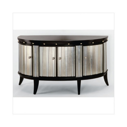 Artmax Four Door Cabinet In Gold And Silverleaf   Walmart.com