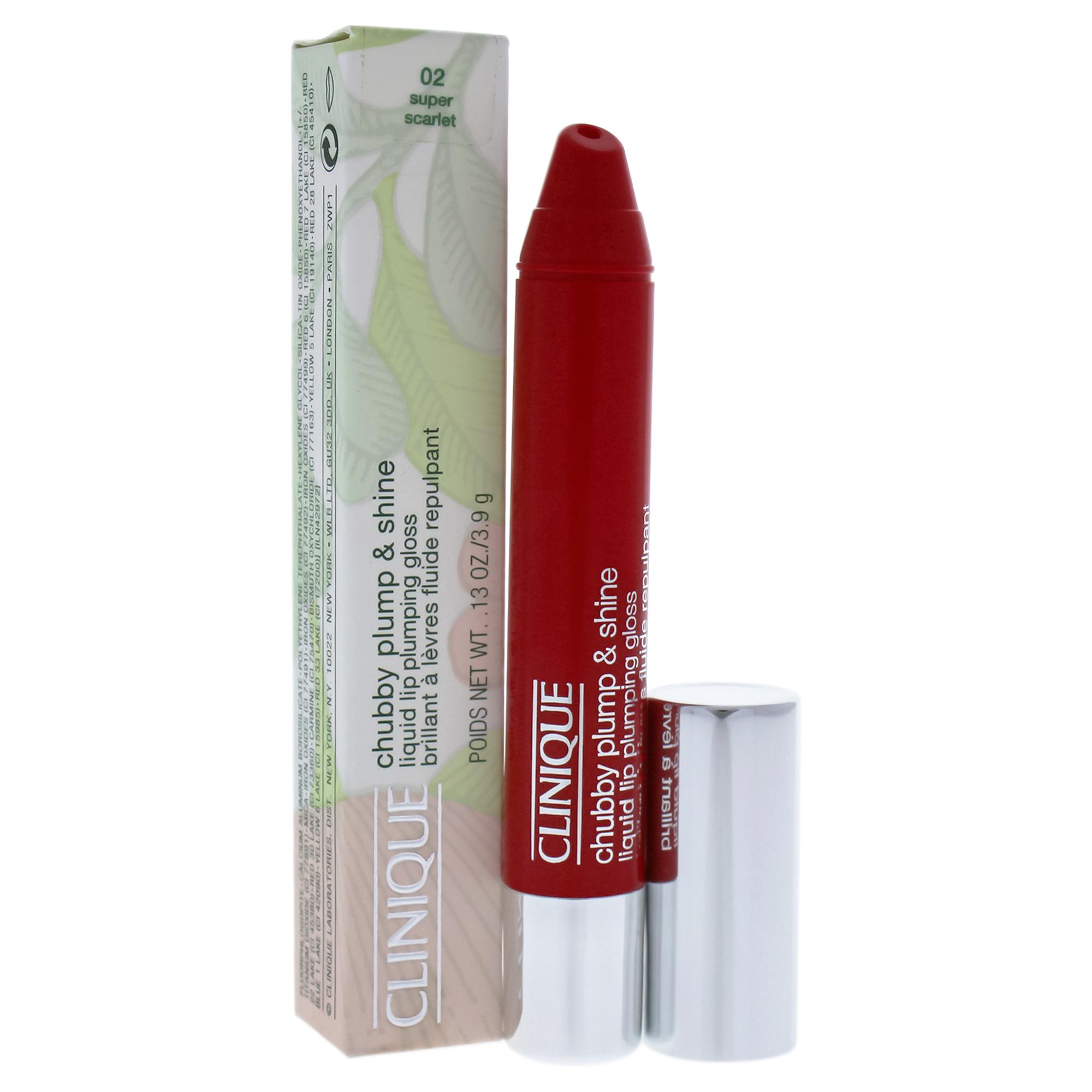 Clinique Chubby Plump & Shine Liquid Lip Plumping Gloss, [03] Portly Peach .13 oz