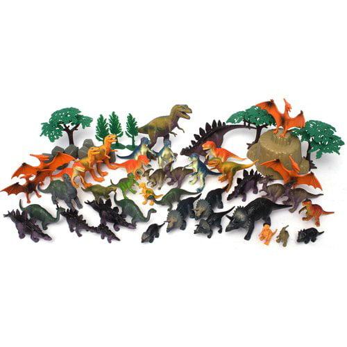 55 Piece Jumbo Dinosaurs Bucket Walmart Com