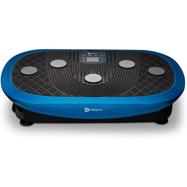 Rumblex Plus 4D Vibration Plate Exercise Machine - Triple Motor Oscillation, Linear, Pulsation + 3D/4D Motion Vibration Platform | Whole Body Viberation Machine for Weight Loss & Shaping.