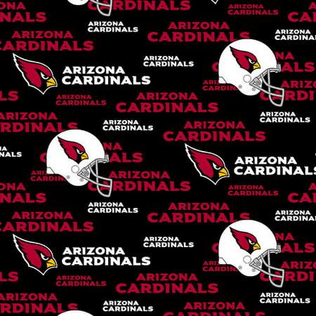 NFL Arizona Cardinals Cotton Fabric, per Yard