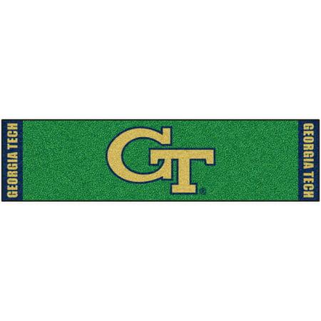 FanMats Georgia Tech Putting Green Mat (Tech Putting Green Runner)