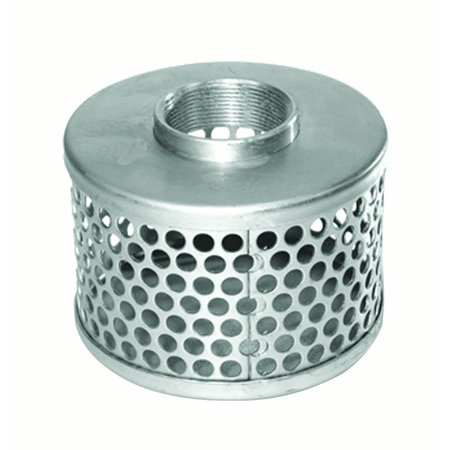 """QSP-C360-90 1"""" Suction Strainer with 1/4"""" Openings"""