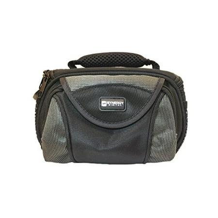 Olympus OM-D E-M5 Digital Camera Case Camcorder and Digital Camera Case - Carry Handle & Adjustable Shoulder Strap - Black / Grey - Replacement by (Best Bag For Omd Em5)