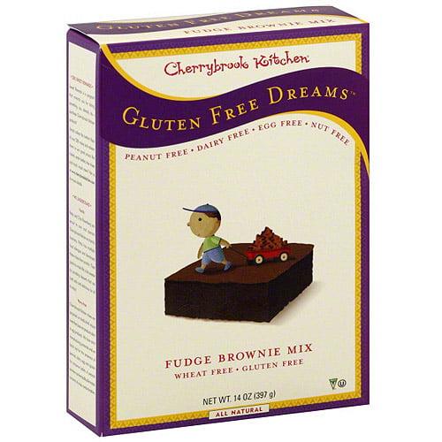 Cherrybrook Kitchen Fudge Brownie Mix, 14 oz (Pack of 6)