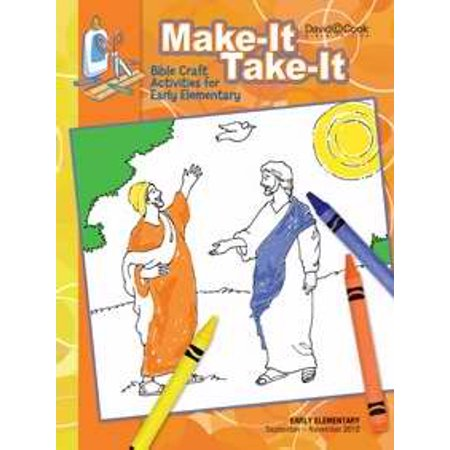 Bible-In-Life/Reformation Press Fall 2019: Early Elementary Make-It/Take-It (Craft Book) (#1023)
