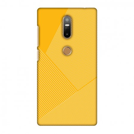 Carbon Star Snap - Lenovo Phab 2 Plus Case - Carbon Fibre Redux Cyber Yellow 1, Hard Plastic Back Cover, Slim Profile Cute Printed Designer Snap on Case with Screen Cleaning Kit