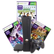 Refurbished Xbox 360 250GB Console, Kinect Sensor, games Sports, Adventures, Dance Central 2