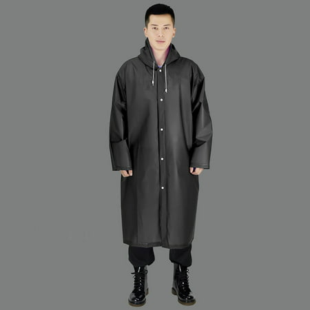 Unisex Fashion Packable Waterproof Rain Jacket Outdoor Hooded Raincoat