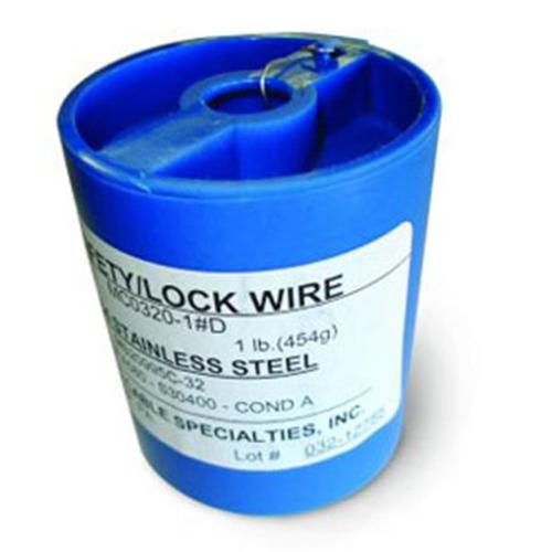 Brown Aviation Tool  BTA-TSW0210-1LB . 021 inch Safety Wire  1 lbs.  Canister